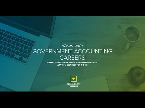 Government Accounting Careers