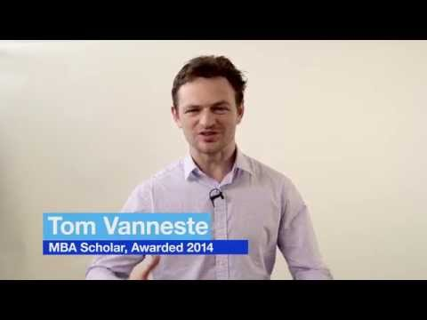 London Business School scholarship stories: Tom Vanneste MBA