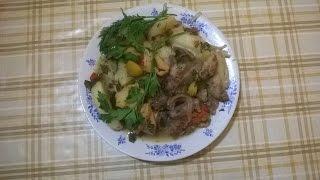ХАШЛАМА -блюдо кавказской кухни. Как приготовить ХАШЛАМУ. Рецепт хашламы.
