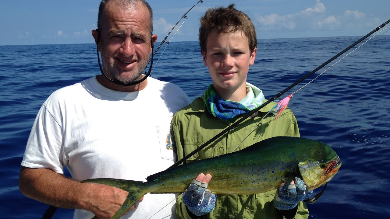 Dolphin mahi mahi fly fishing islamorada fishing for Long island surf fishing report
