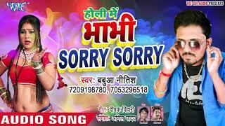 देवर भाभी का सुपरहिट होली गीत 2019 - Holi Me Bhabhi Sorry Sorry - Babua Nitish - Bhojpuri Holi Geet