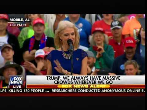 Donald Trump Brings Kellyanne Conway and Hope Hicks on Stage at Final Victory Rally