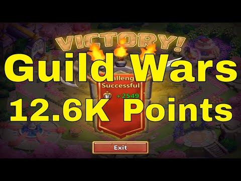 Castle Clash Guild Wars 12.6K Points