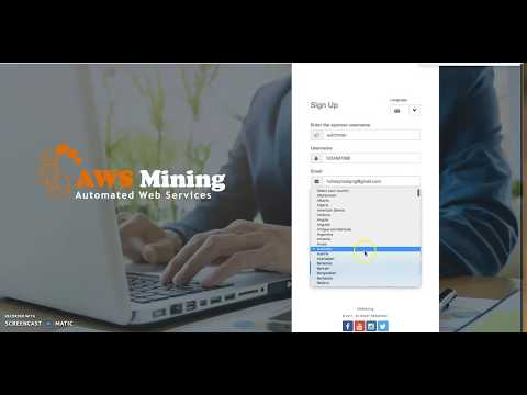 How To Create AWS Mining And MyCoinDeal Account (+2347030721020 Whatsapp)