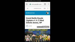 GRAND BATTLE ROYALE MOD APK UNLIMITED AMMO, HP VIDEO TUTORIAL by Raymond  Games