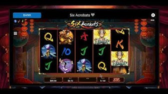 Six Acrobats -Online Canadian Slot - Big Wins and Bonuses (Part 2)