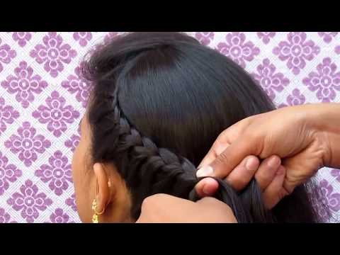 FRENCH SIDE BRAIDED HAIRSTYLE