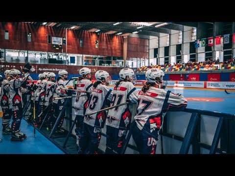 World Roller Games Semi Final | Inline Hockey | USA Vs Spain