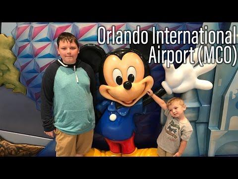 Airport Dropoff Orlando International Airport MCO