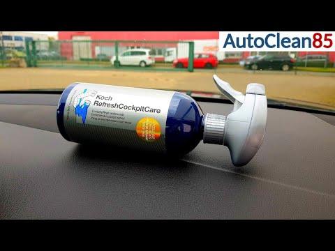 kunststoff aufbereiten koch chemie refresh cockpit care auto innenraum reinigen und pflegen