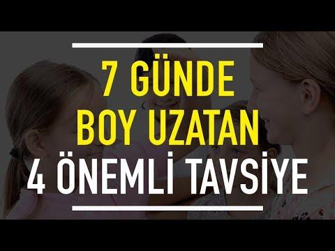 7 GÜNDE Boy Uzatan 4 Önemli Tavsiye