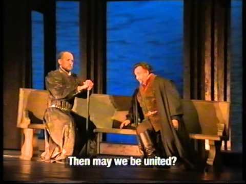 Simon Boccanegra (Vieni a me) David Rendall with Alastair Miles.