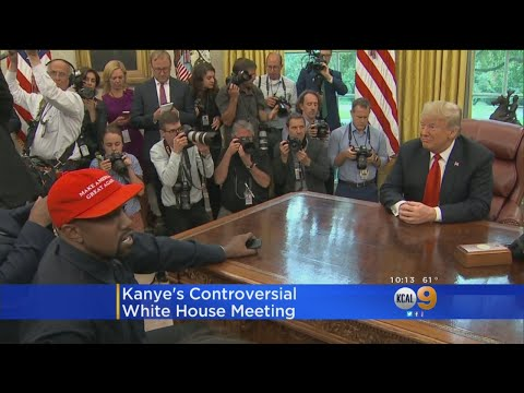 Kanye West Makes Controversial White House Visit, Goes On 10-Minute Rant Mp3