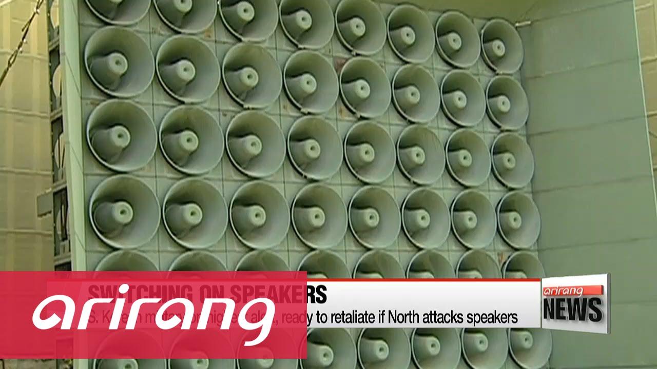 s  korea resumes anti-north broadcasts on border loudspeakers