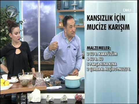 DR FERIDUN KUNAK'TAN KANSIZLIK İÇİN MUCİZE KARIŞIM