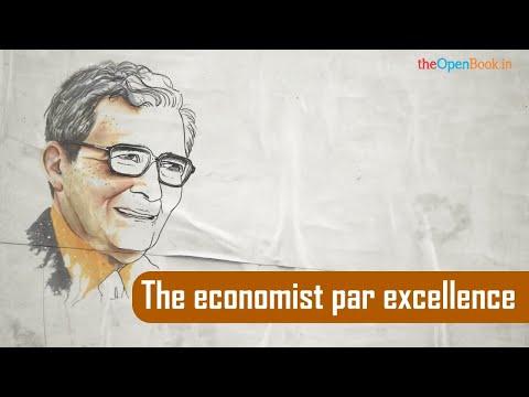 Amartya Sen   The economist par excellence   The Open Book   Education Videos