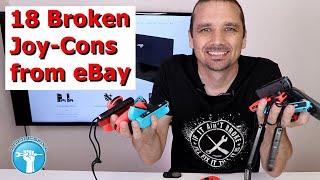 I Spent $275 On Broken Joy Cons   Can I Fix Them For Profit?