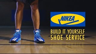 NIKEA - Build It Yourself Shoe Service {The Kloons}