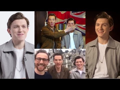 Infinity War Press Tour with Tom Holland Part 1