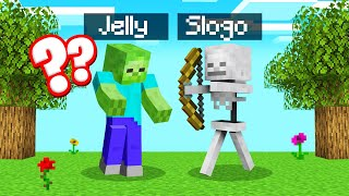 MINECRAFT But We're HOSTILE MOBS! (Weird)