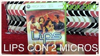 Lips para Xbox 360 con 2 Microfonos