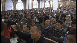 Asia's largest Baptist Church at Zunheboto, Nagaland (India) inaugurated on 22nd April 2017