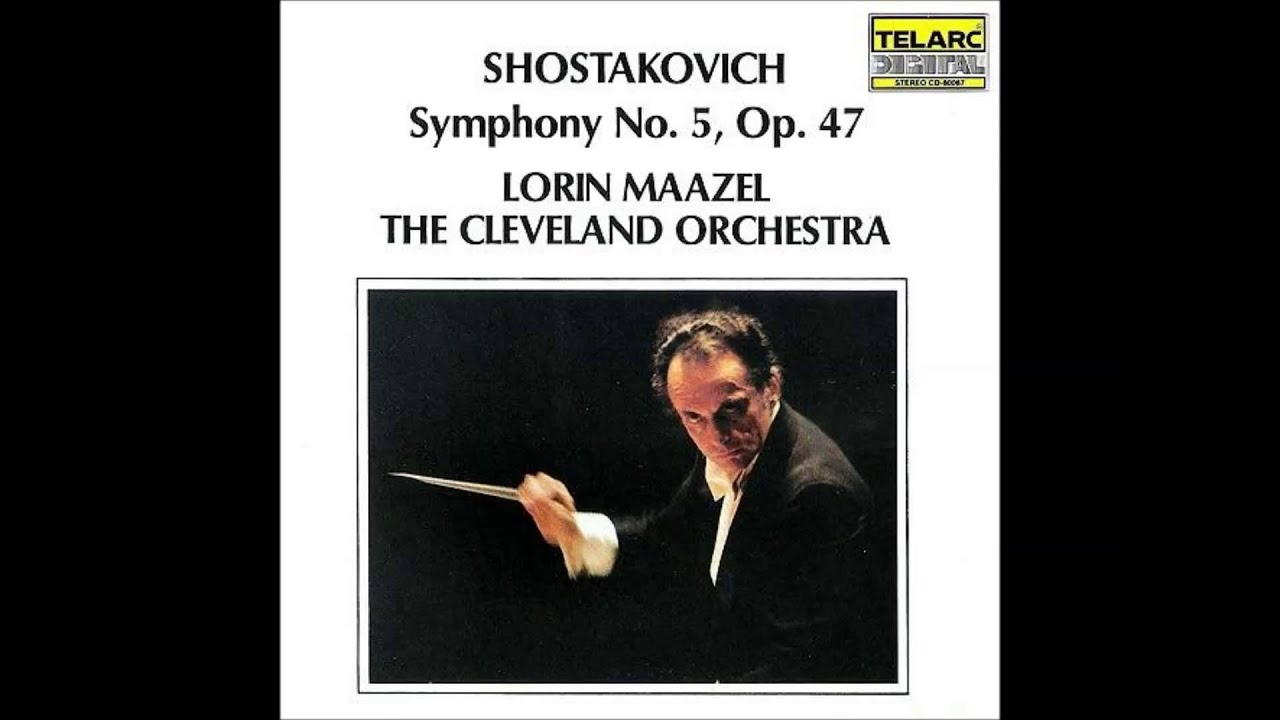 Shostakovich - Symphony No  5 - 2  Allegretto