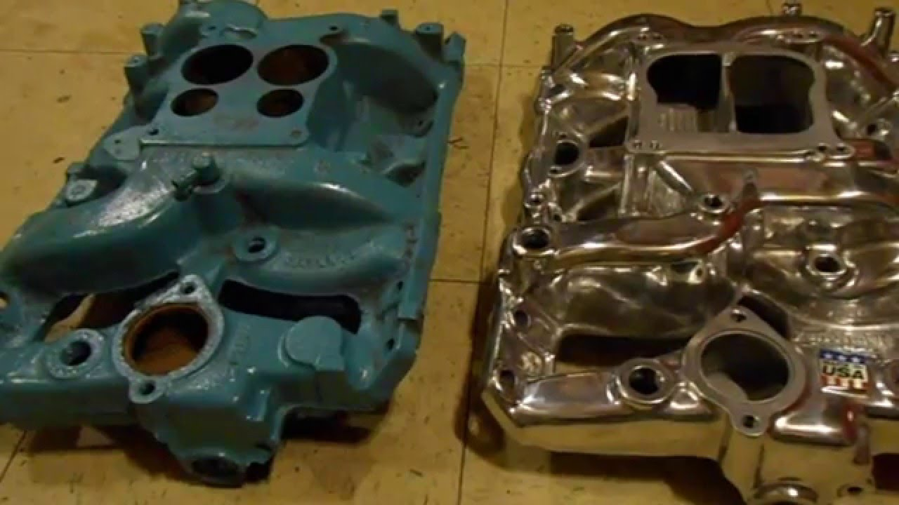 1972 cast iron pontiac intake vs edelbrock performer