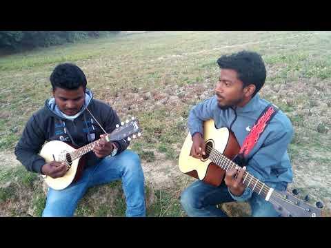 Bargi latar dhiri dadi || Santhali song  || Guitar & Mandolin cover || By :- Sudhir & Raju