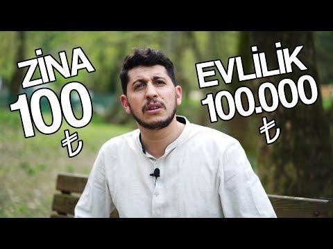 ZİNA 100 TL vs EVLİLİK 100.000 TL - Serkan Aktaş