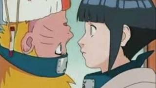 Naruto and Hinata kiss scene