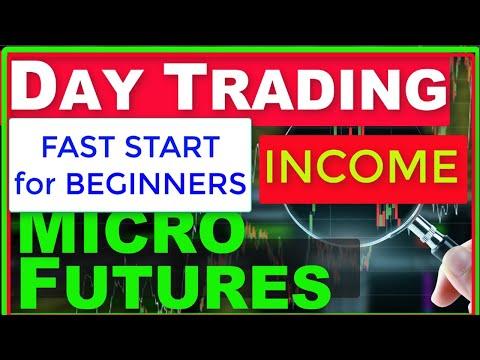 Fast Start to Day Trading Micro E-mini Futures for Income