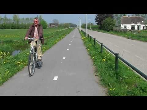 Inter-city cycling Geldermalsen - Culemborg (Netherlands)