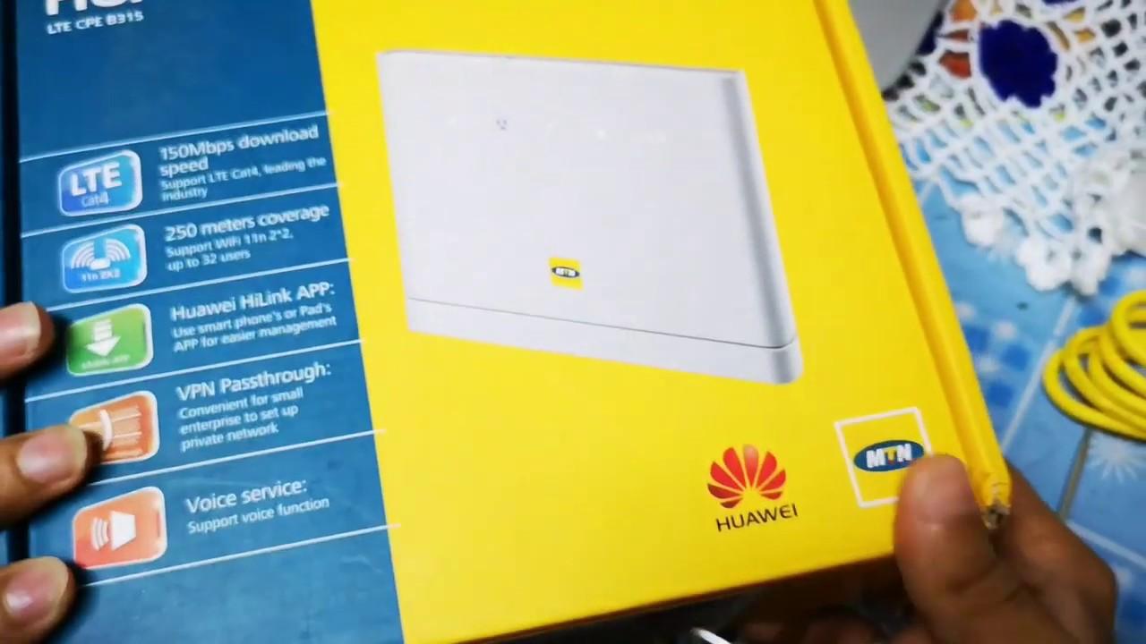 Repeat latest Unlock huawei B315 router lte MTN Zambia
