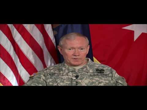 General Dempsey and General Petraeus Congratulate CGSC