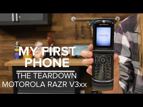 My First Phone: The Teardown (Motorola RAZR V3xx)