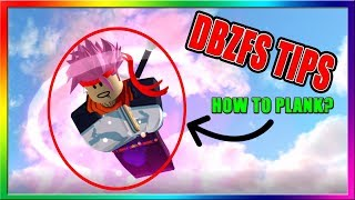 ROBLOX :: DBZ FINAL STAND TIPS AND TRICKS! | HOW TO PLANK IN ROBLOX?