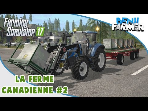 Farming Simulator 17 | La Ferme Canadienne | Épisode 2 | Les Big Bag !