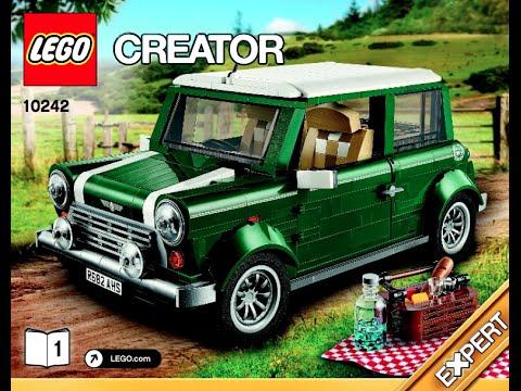 How To Build 10242 Lego Mini Cooper Mk Vii Instructions Youtube