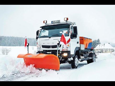 FUSO Canter 4x4 | Winter Service