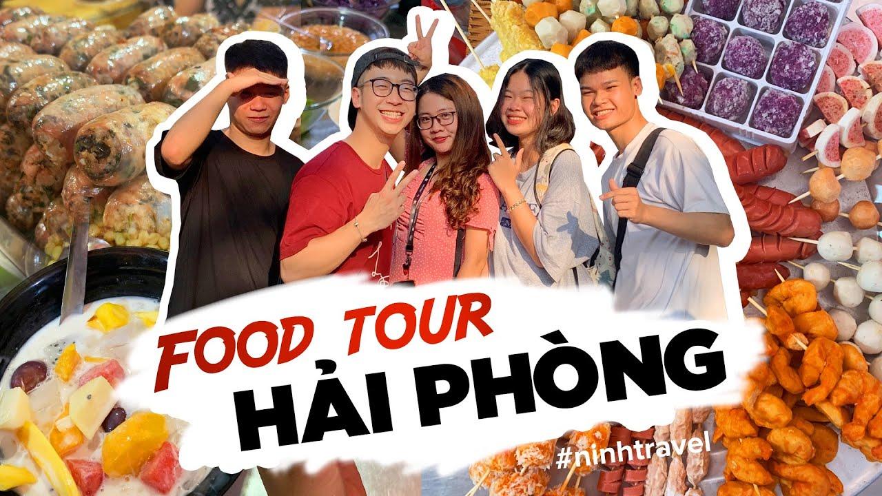 ĂN SẬP CHỢ CÁT BI, lần đầu ăn GIÁ BIỂN, DỒI SỤN // Food Tour Hải Phòng (Tập 3)