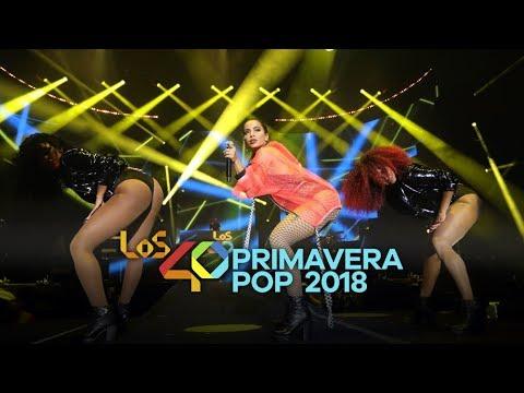 Anitta en LOS40 Primavera POP 2018  MADRID COMPLETO