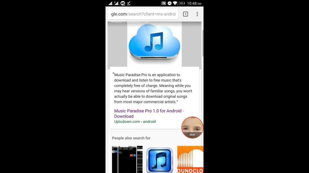 download free music paradise pro