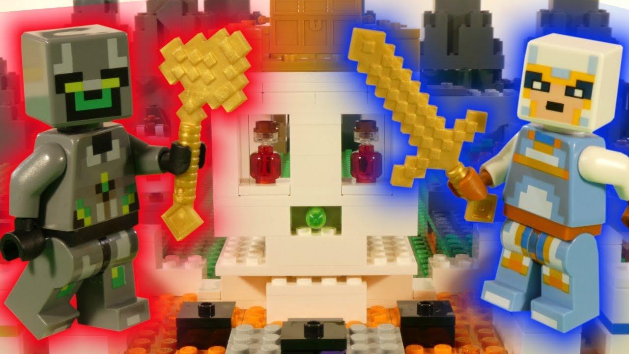 LEGO MINECRAFT - THE SKULL ARENA - 21145