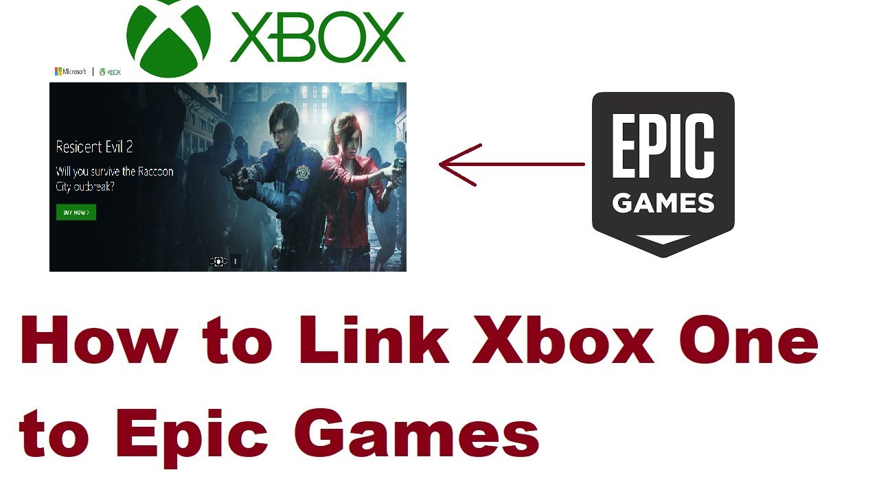 How To Link Xbox One To Epic Games Account 2019 Youtube