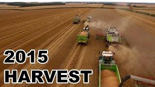 2015 Harvest at Warter Priory Estate