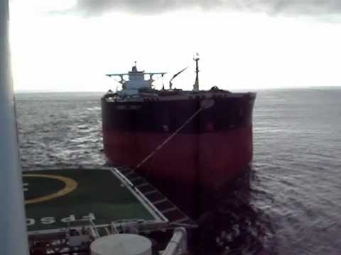 Empty VLC Tanker Offshore Angola
