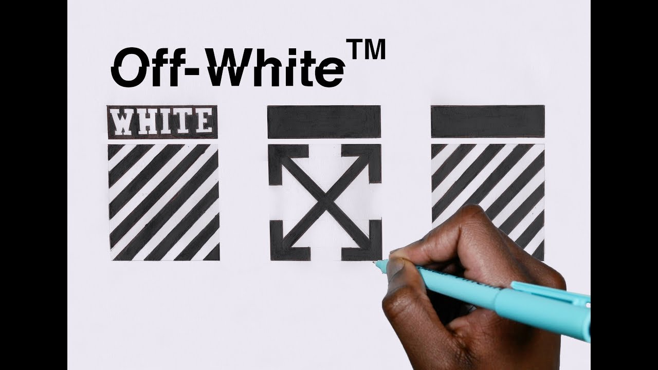 How To Draw All Off White Logos Youtube