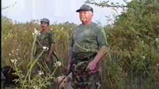 Don Ramiro Rodriguez Barrera de cacería de Pichichis en Jamapa, Veracruz
