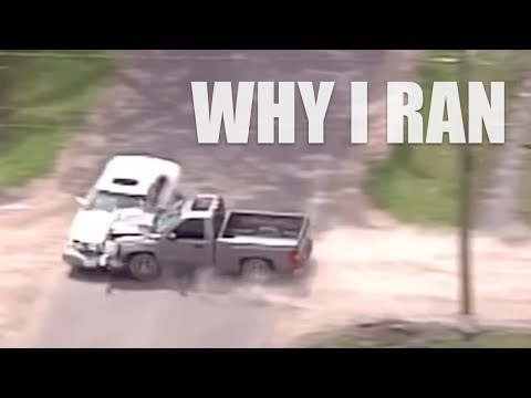 Why I Ran - Driver Crashes Car in High Speed Houston Police Chase!